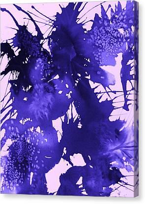 Purple Passion Canvas Print by Ellen Levinson