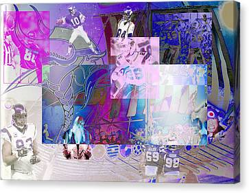 Purple People Eaters Canvas Print by Jimi Bush