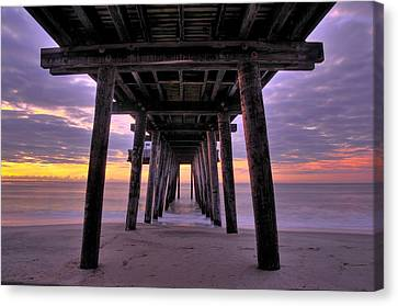 Purple Sunrise Canvas Print by Dan Myers