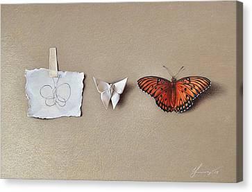 Pursuit Of A Dream Canvas Print by Elena Kolotusha