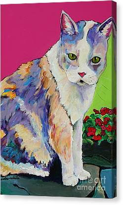 Puurl Canvas Print by Pat Saunders-White