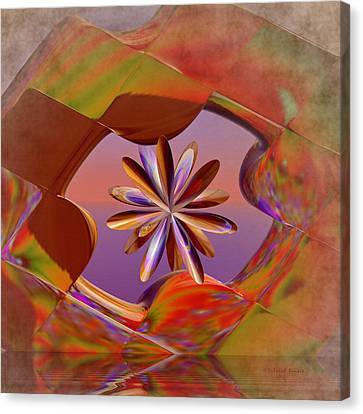 Puzzle Of Life Canvas Print by Deborah Benoit
