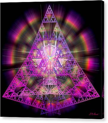 Pyramidian Canvas Print by Michael Durst
