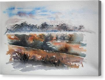 Pyrenees Canvas Print by Francoise Dugourd-Caput