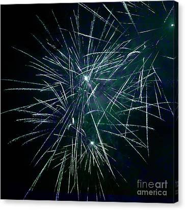 Pyrotechnic Delight Canvas Print by John Stephens
