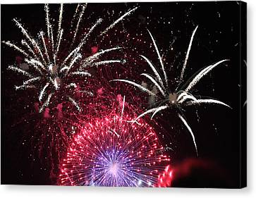 Pyrotechnics #01 Canvas Print by Colin Hunt