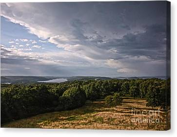Quabbin Looking North Canvas Print by Randi Shenkman