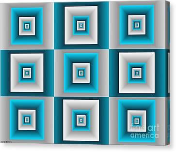 Quadrant  14 Canvas Print by TJ Art