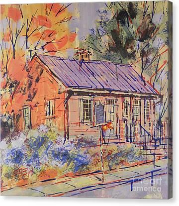 Quaker Canvas Print by Larry Lerew
