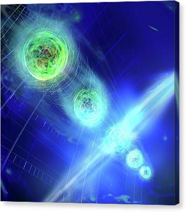 Quantum Entanglement Canvas Print by Harald Ritsch