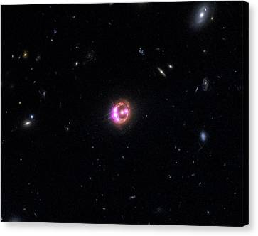 Quasar Rx J1131-1231 Canvas Print by Nasa