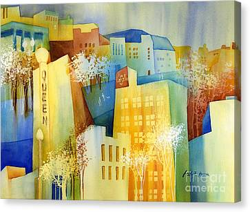 Queen And La Salle Canvas Print by Hailey E Herrera