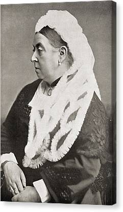 Queen Victoria Canvas Print by English Photographer