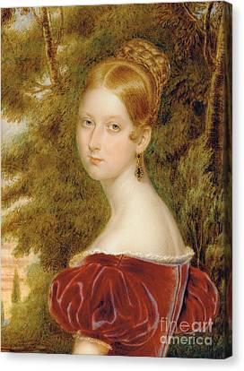 Queen Victoria Canvas Print by Henry Collen