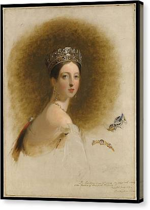 Queen Victoria Canvas Print by Celestial Images