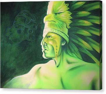 Quetzal Canvas Print by Robert Martinez