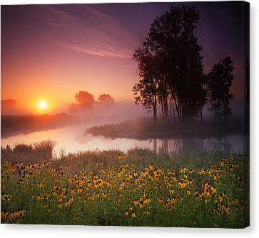 Quiet Dawn Canvas Print by Ray Mathis