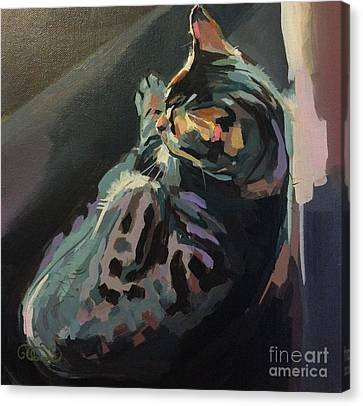 Quiet Canvas Print by Kimberly Santini
