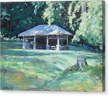 Quiet Resting Place Canvas Print by Sandra Harris