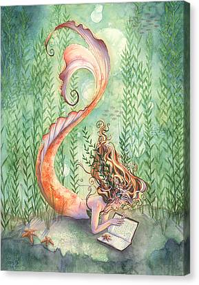 Quiet Time Canvas Print by Sara Burrier