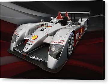 R10 Le Mans 2 Canvas Print by Peter Chilelli