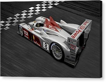 R10 Le Mans Canvas Print by Peter Chilelli