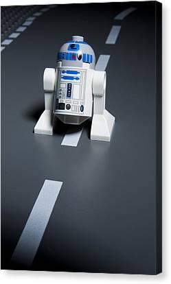 R2-d2 Canvas Print by Samuel Whitton