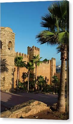 Rabat Morocco Beautiful Kasbah Udaya Canvas Print by Bill Bachmann