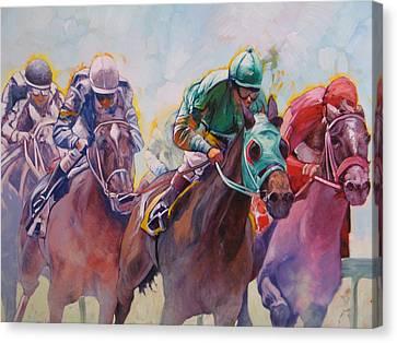 Race 2 Canvas Print by Janina  Suuronen