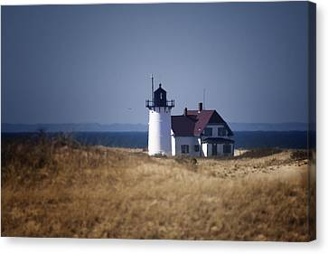 Race Point Light Canvas Print by Dapixara Art