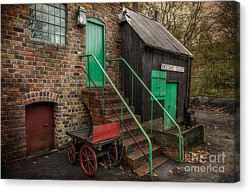 Racecourse Colliery  Canvas Print by Adrian Evans