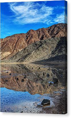 Racetrack Reflection  Canvas Print by James Marvin Phelps