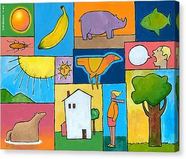 Rachel's Painting Canvas Print by Douglas Simonson