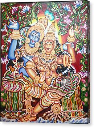 Radheshyam Canvas Print by Jayashree