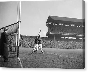 Railway Cup Hurling Final 1953 Canvas Print by Irish Photo Archive
