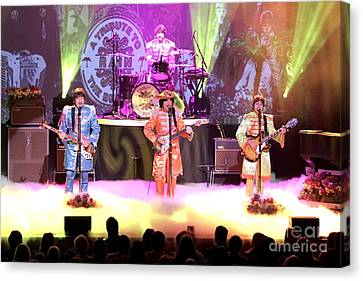Rain  The Beatles Tribute Band Canvas Print by Front Row  Photographs