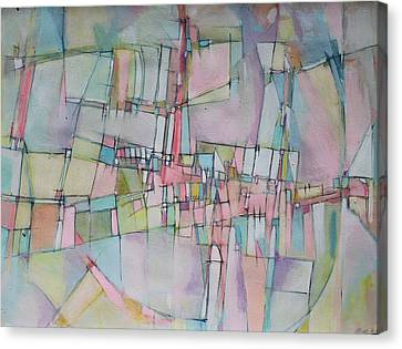 Rainbow Avenue Canvas Print by Hari Thomas