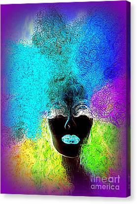 Rainbow Beauty Canvas Print by Ed Weidman