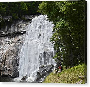 Rainbow Falls Canvas Print by Susan Leggett