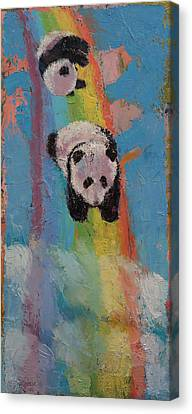 Rainbow Canvas Print by Michael Creese