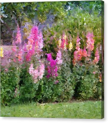 Rainbow Of Snapdragons Canvas Print by Cindy Collier Harris