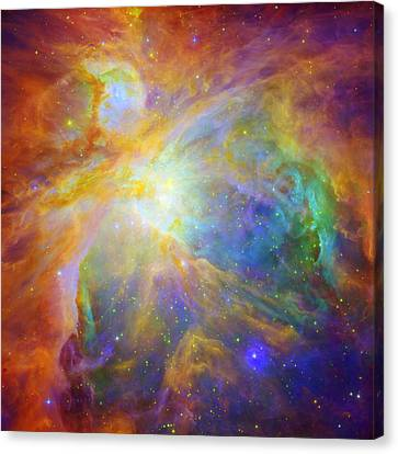 Rainbow Orion Canvas Print by Georgia Fowler