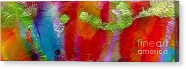 Rainbow Passion Canvas Print by Angela L Walker