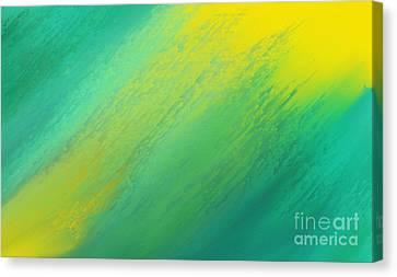 Raining Sunshine - Meteorologist - Meteorology Canvas Print by Andee Design