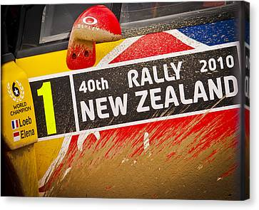 Rally New Zealand Canvas Print by motography aka Phil Clark