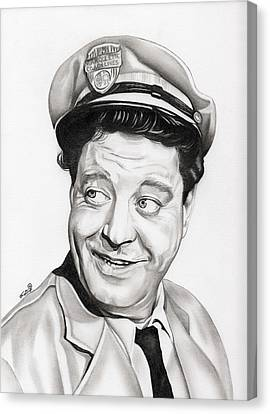 Ralph Kramden Canvas Print by Fred Larucci