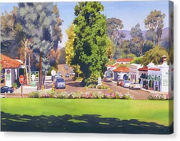 Rancho Santa Fe California Canvas Print by Mary Helmreich