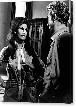 Raquel Welch Canvas Print by Retro Images Archive