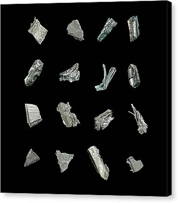 Rare Earth Elements Canvas Print by Science Photo Library
