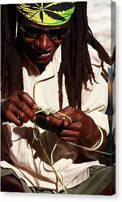 Rasta Man Canvas Print by Aidan Moran